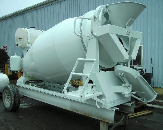 Concrete Forms For Sale >> 3 Yard Mini Mixer Lite Weight - Mixer Mike